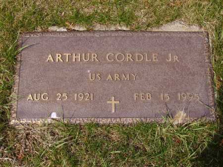 CORDLE, ARTHUR, JR. - Franklin County, Ohio | ARTHUR, JR. CORDLE - Ohio Gravestone Photos