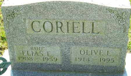 CORIELL, ELIAS E - Franklin County, Ohio | ELIAS E CORIELL - Ohio Gravestone Photos