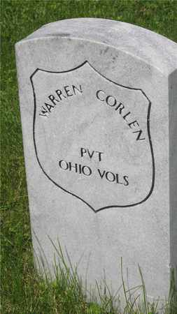 CORLEN, WARREN - Franklin County, Ohio | WARREN CORLEN - Ohio Gravestone Photos