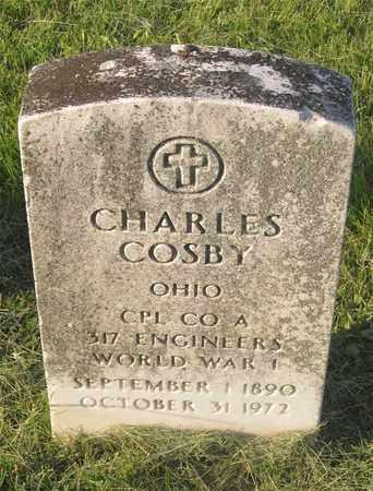 COSBY, CHARLES - Franklin County, Ohio | CHARLES COSBY - Ohio Gravestone Photos