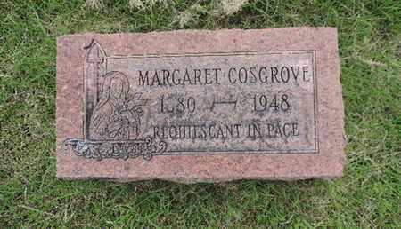 COSGROVE, MARGARET - Franklin County, Ohio | MARGARET COSGROVE - Ohio Gravestone Photos