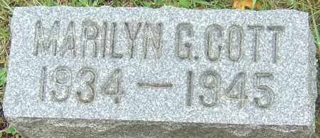 COTT, MARILYN GRACE - Franklin County, Ohio | MARILYN GRACE COTT - Ohio Gravestone Photos