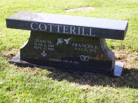 COTTERILL, IVAN MARTIN - Franklin County, Ohio | IVAN MARTIN COTTERILL - Ohio Gravestone Photos