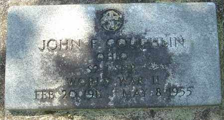 COUGHLIN, JOHN F - Franklin County, Ohio | JOHN F COUGHLIN - Ohio Gravestone Photos