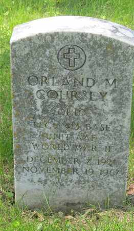 COURSEY, ORLAND M. - Franklin County, Ohio | ORLAND M. COURSEY - Ohio Gravestone Photos