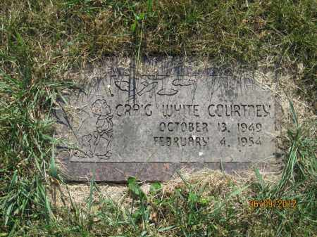 COURTNEY, CRAIG WHITE - Franklin County, Ohio | CRAIG WHITE COURTNEY - Ohio Gravestone Photos