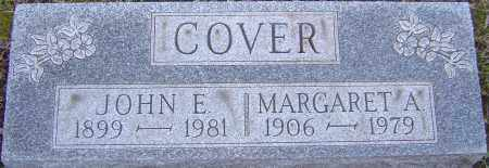 COVER, MARGARET - Franklin County, Ohio | MARGARET COVER - Ohio Gravestone Photos