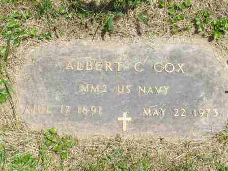COX, ALBERT - Franklin County, Ohio | ALBERT COX - Ohio Gravestone Photos