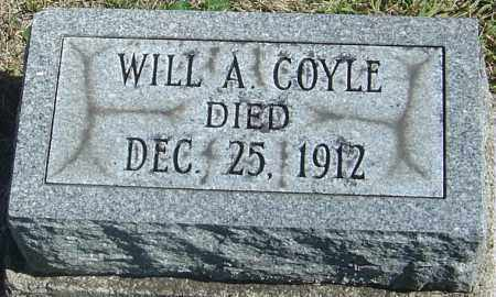 COYLE, WILL A - Franklin County, Ohio | WILL A COYLE - Ohio Gravestone Photos