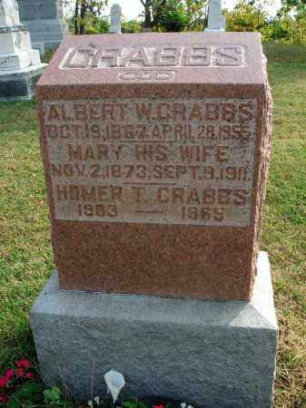 CRABBS, ALBERT W. - Franklin County, Ohio | ALBERT W. CRABBS - Ohio Gravestone Photos