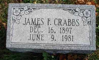 CRABBS, JAMES F. - Franklin County, Ohio | JAMES F. CRABBS - Ohio Gravestone Photos