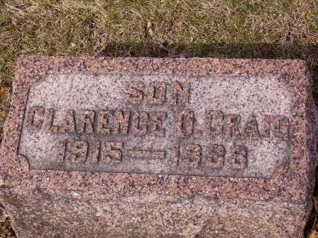 CRAIG, CLARENCE - Franklin County, Ohio | CLARENCE CRAIG - Ohio Gravestone Photos