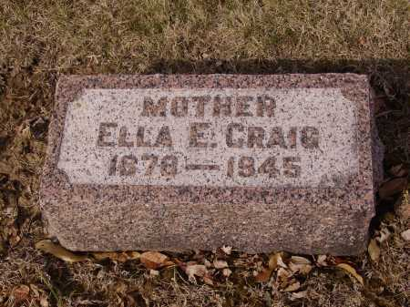 CRAIG, ELLA E. - Franklin County, Ohio | ELLA E. CRAIG - Ohio Gravestone Photos