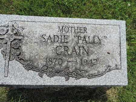 CRAIN, SADIE - Franklin County, Ohio | SADIE CRAIN - Ohio Gravestone Photos