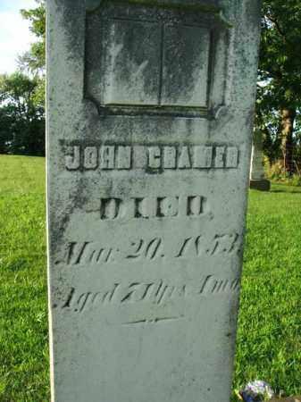 CRAMER, JOHN - Franklin County, Ohio | JOHN CRAMER - Ohio Gravestone Photos