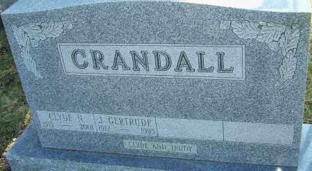 CRANDALL, CLYDE - Franklin County, Ohio | CLYDE CRANDALL - Ohio Gravestone Photos