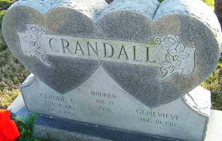 CRANDALL, CLAUDE E - Franklin County, Ohio | CLAUDE E CRANDALL - Ohio Gravestone Photos