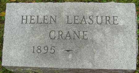 LEASURE CRANE, HELEN - Franklin County, Ohio | HELEN LEASURE CRANE - Ohio Gravestone Photos