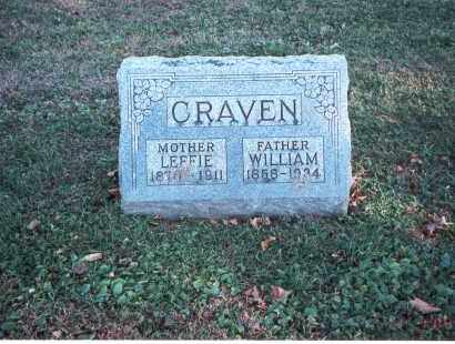 CRAVEN, WILLIAM - Franklin County, Ohio | WILLIAM CRAVEN - Ohio Gravestone Photos