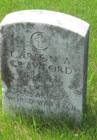 CRAWFORD, CARSON A. - Franklin County, Ohio | CARSON A. CRAWFORD - Ohio Gravestone Photos