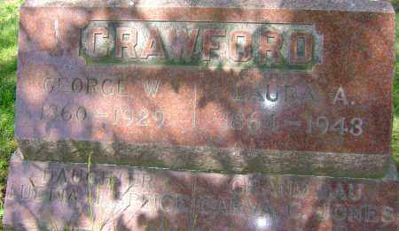 MALONE CRAWFORD, LAURA ALICE - Franklin County, Ohio | LAURA ALICE MALONE CRAWFORD - Ohio Gravestone Photos