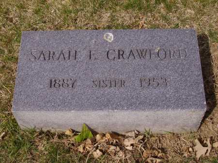 CRAWFORD, SARAH E. - Franklin County, Ohio | SARAH E. CRAWFORD - Ohio Gravestone Photos