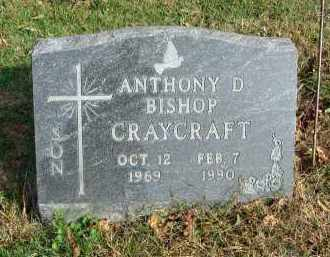 CRAYCRAFT, ANTHONY D. BISHOP - Franklin County, Ohio | ANTHONY D. BISHOP CRAYCRAFT - Ohio Gravestone Photos