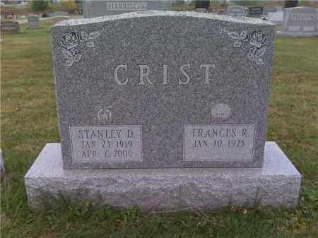CRIST, STANLEY D. - Franklin County, Ohio | STANLEY D. CRIST - Ohio Gravestone Photos