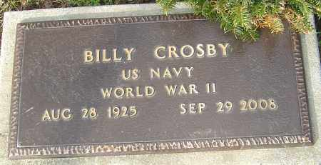 CROSBY, BILLY - Franklin County, Ohio | BILLY CROSBY - Ohio Gravestone Photos