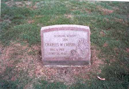 CROSBY, CHARLES W. - Franklin County, Ohio | CHARLES W. CROSBY - Ohio Gravestone Photos