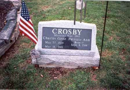 CROSBY, CHARLES GENE - Franklin County, Ohio | CHARLES GENE CROSBY - Ohio Gravestone Photos