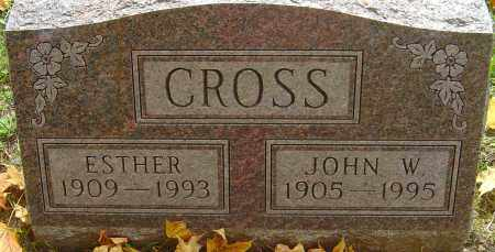 CROSS, ESTHER - Franklin County, Ohio | ESTHER CROSS - Ohio Gravestone Photos