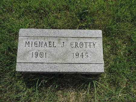 CROTTY, MICHAEL J. - Franklin County, Ohio | MICHAEL J. CROTTY - Ohio Gravestone Photos