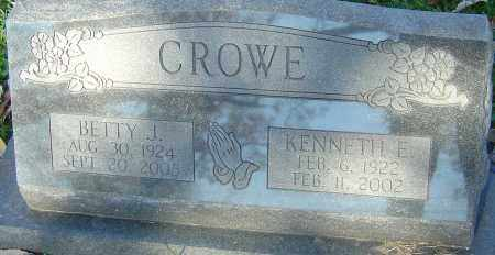 CROWE, KENNETH E - Franklin County, Ohio | KENNETH E CROWE - Ohio Gravestone Photos