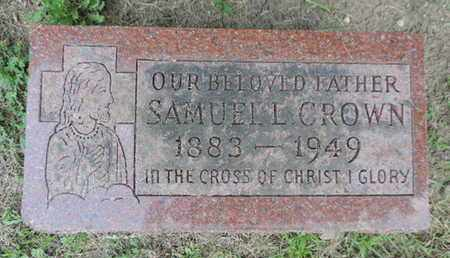 CROWN, SAMUEL L. - Franklin County, Ohio | SAMUEL L. CROWN - Ohio Gravestone Photos