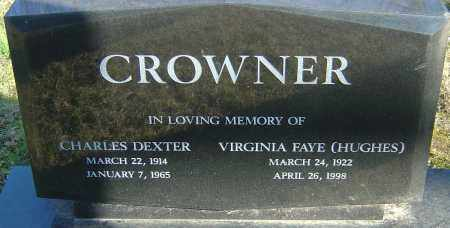 HUGHES CROWNER, VIRGINIA FAYE - Franklin County, Ohio | VIRGINIA FAYE HUGHES CROWNER - Ohio Gravestone Photos