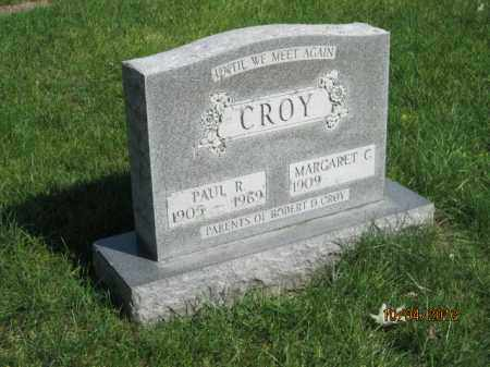SCHUMACHER CROY, MARGARET C - Franklin County, Ohio | MARGARET C SCHUMACHER CROY - Ohio Gravestone Photos