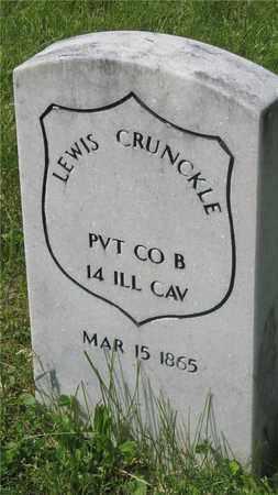 CRUNKLE, LEWIS - Franklin County, Ohio | LEWIS CRUNKLE - Ohio Gravestone Photos