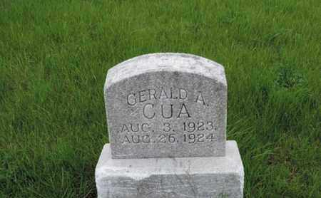 CUA, GERALD A - Franklin County, Ohio | GERALD A CUA - Ohio Gravestone Photos