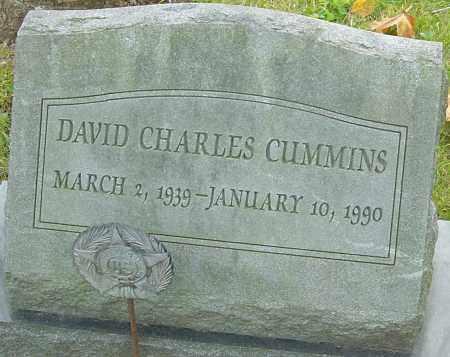 CUMMINS, DAVID - Franklin County, Ohio   DAVID CUMMINS - Ohio Gravestone Photos