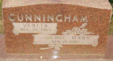 CUNNINGHAM, VERLIA - Franklin County, Ohio | VERLIA CUNNINGHAM - Ohio Gravestone Photos