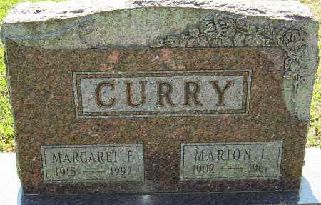 CURRY, MARGARET E - Franklin County, Ohio | MARGARET E CURRY - Ohio Gravestone Photos