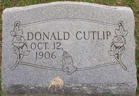 CUTLIP, DONALD - Franklin County, Ohio | DONALD CUTLIP - Ohio Gravestone Photos