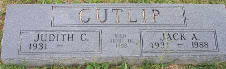 CUTLIP, JUDITH C. - Franklin County, Ohio | JUDITH C. CUTLIP - Ohio Gravestone Photos
