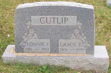 CUTLIP, LONNIE F. - Franklin County, Ohio | LONNIE F. CUTLIP - Ohio Gravestone Photos
