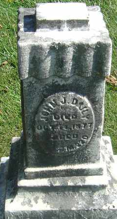 DAILY, JOHN J - Franklin County, Ohio | JOHN J DAILY - Ohio Gravestone Photos