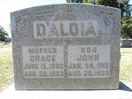 D'ALOIA, JOHN - Franklin County, Ohio | JOHN D'ALOIA - Ohio Gravestone Photos