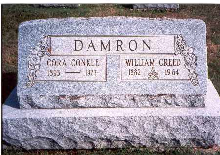 CONKLE DAMRON, CORA - Franklin County, Ohio | CORA CONKLE DAMRON - Ohio Gravestone Photos