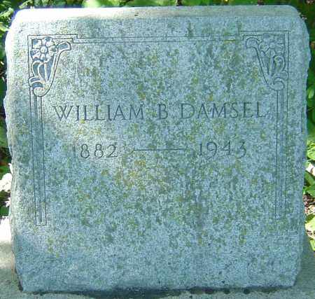 DAMSEL, WILLIAM B - Franklin County, Ohio | WILLIAM B DAMSEL - Ohio Gravestone Photos