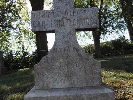 DANDRE, CAROLINA - Franklin County, Ohio | CAROLINA DANDRE - Ohio Gravestone Photos